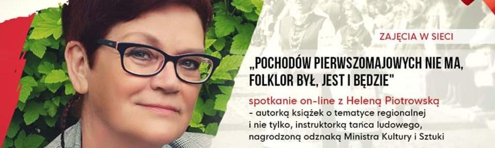 Spotkanie on-line z Heleną Piotrowską