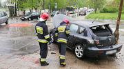 Niebezpieczny poranek na ulicach Olsztyna [ZDJĘCIA]