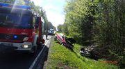 65-letnia kobieta trafiła po wypadku do szpitala w Bartoszycach