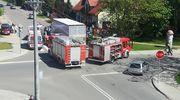 Kolejne zderzenie dwóch aut pod mławskim szpitalem - AKTUALIZACJA