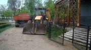Rozpoczęła się przebudowa estrady w mławskim parku