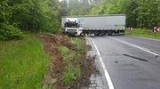 Utrudnienia na trasie Olsztyn - Ostróda. Droga jest zablokowana, wyznaczono objazdy