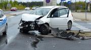 Wypadek w Iławie — poszkodowani trafili do szpitala [ZDJĘCIA, WIDEO]