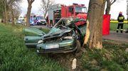 Tragiczny wypadek pod Ciechanowem. Nie żyje 23-letnia mieszkanka powiatu mławskiego