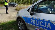 Kierowca volkswagena stracił prawo jazdy za przekroczenie dopuszczalnej prędkości