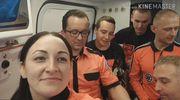Oleccy ratownicy medyczni w rękach ptasiej milicji