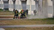 Pożar kurników. Straty wyniosły 1 800 000 złotych