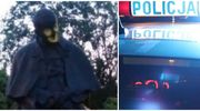 19-latek z powiatu nowomiejskiego pomalował pomnik Papieża w Toruniu