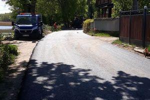 Trwa przebudowa drogi w Niedźwiedzim Rogu