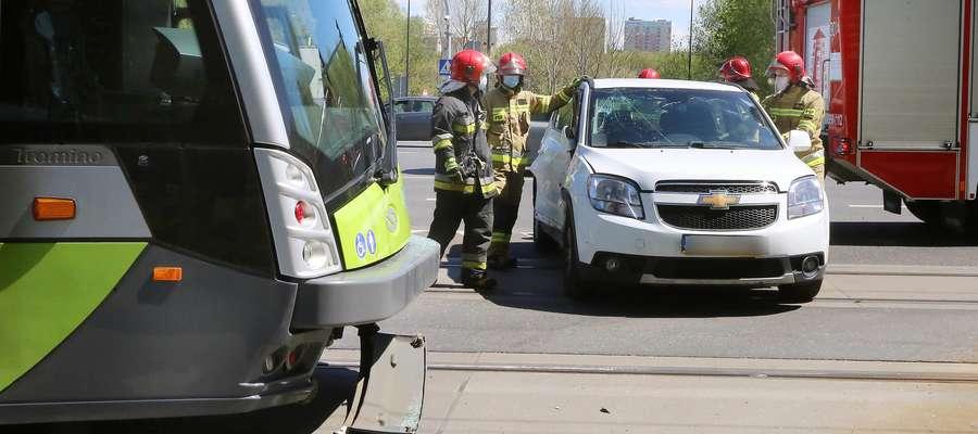 Wypadek Sikorskiego z tramwajem