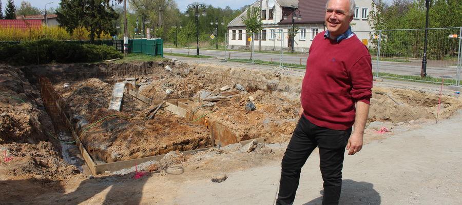 Solidne fundamenty będą podstawą odbudowanego domu Stefana Gołębiowskiego