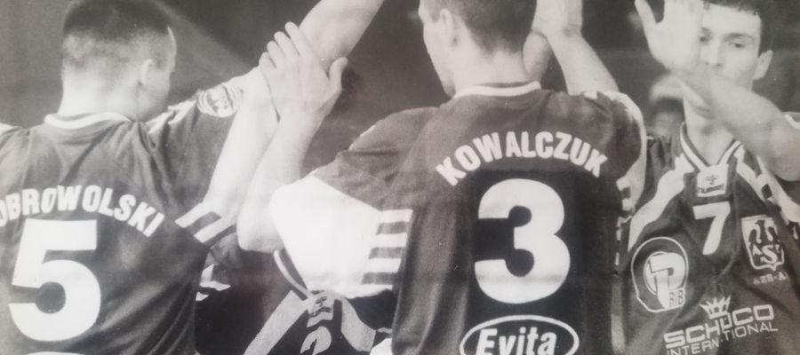 Maciej Dobrowolski, Maciej Kowalczuk i Piotr Poskrobko wprowadzili AZS Olsztyn do Serii B I ligi