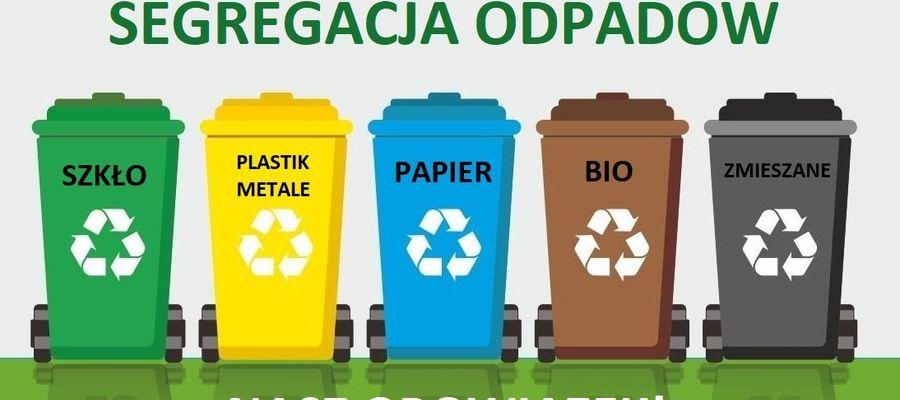 Od poniedziałku trzeba segregować odpady