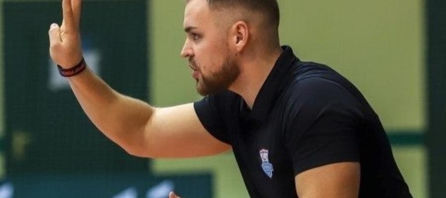 Dawid Grubalski, trener Constractu Lubawa
