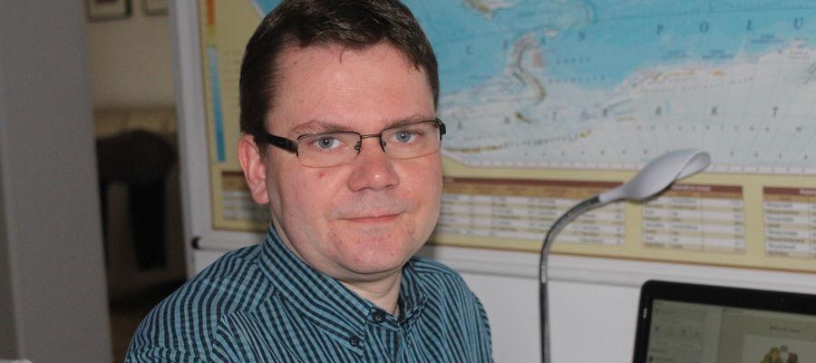 Dr Michał Dąbrowski z Katedry Socjologii UWM