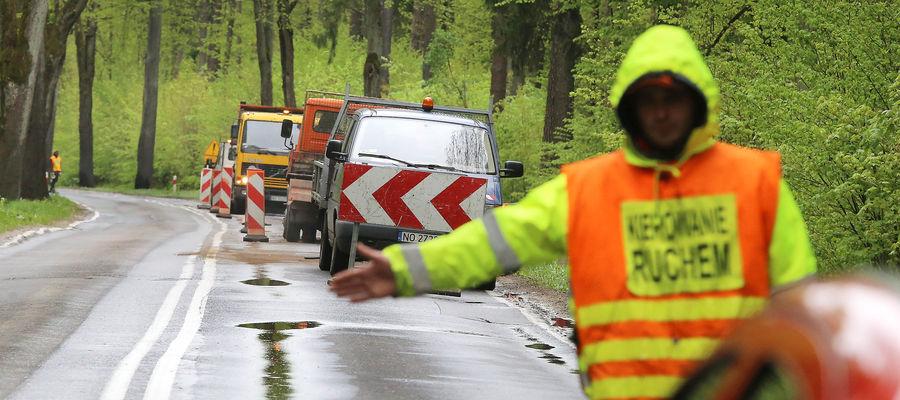 Prace drogowe na al. Wojska Polskiego. Uwaga na utrudnienia!