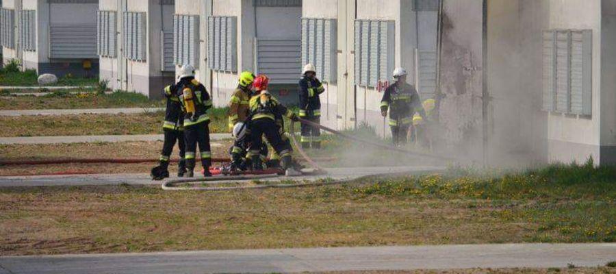 Pożar wybuchł 1 maja około godziny 08:05