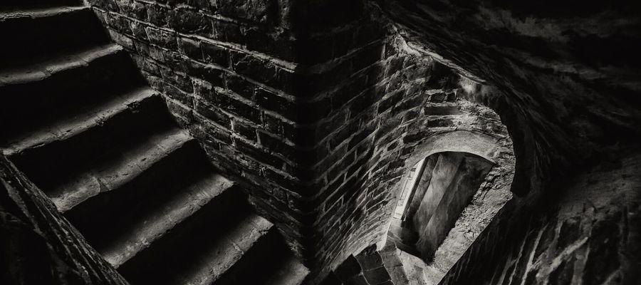 Schody w lidzbarskim zamku