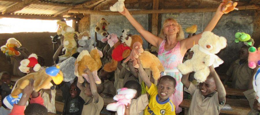 Danuta Chada w Togo