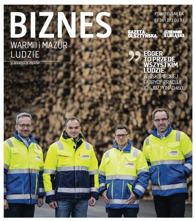 Biznes Warmii i Mazur - Ludzie 2019