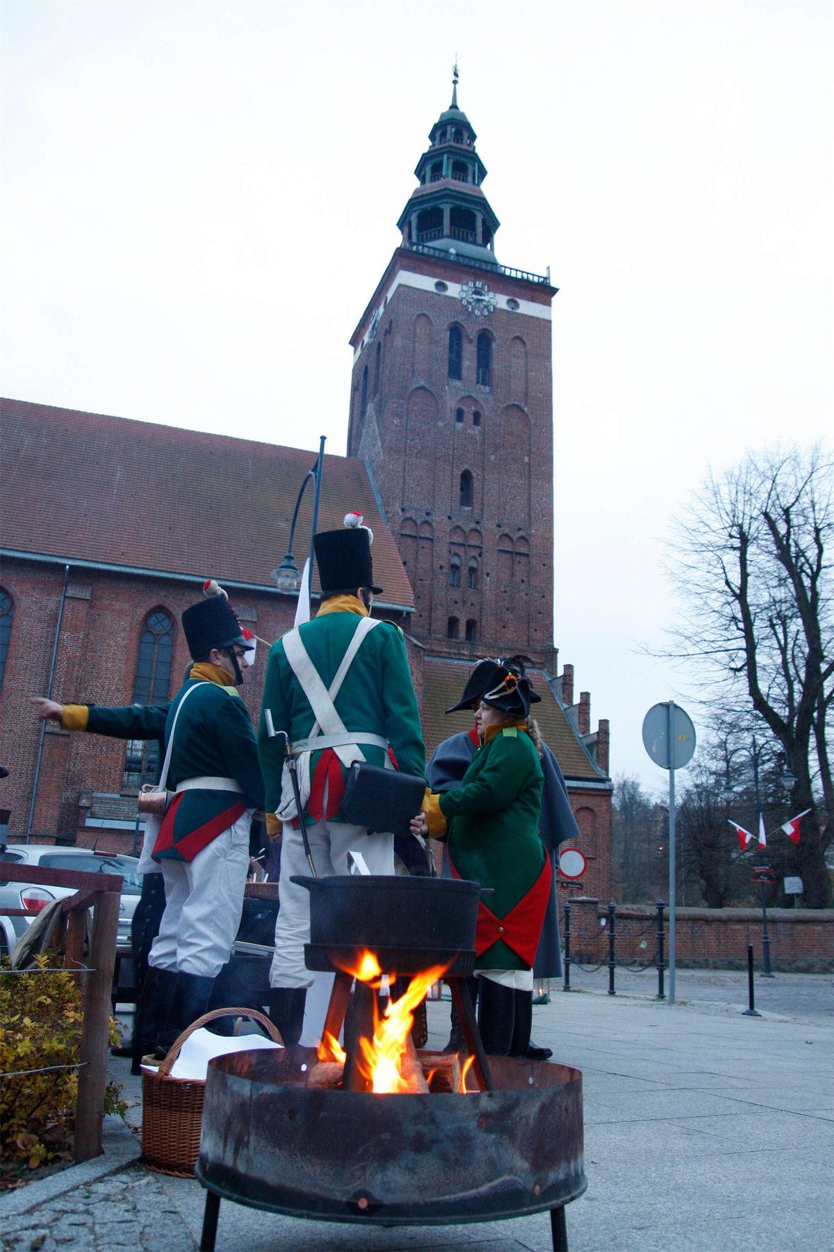 Uczczą Bitwę pod Heilsbergiem - full image