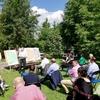 W ogrodzie debatowali nad Planem Rozwoju Lokalnego