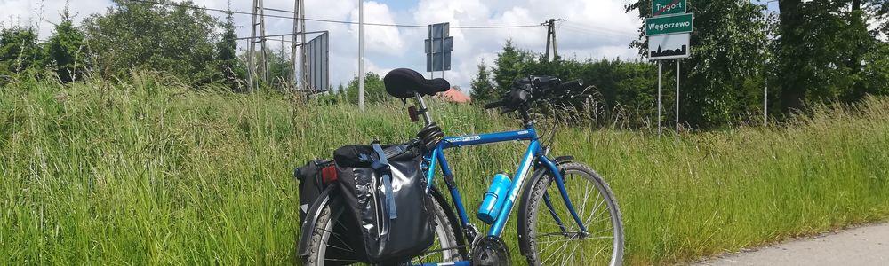 Wyprawa rowerem z Niziny Sępopolskiej na Wielkie Jeziora Mazurskie