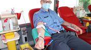 Funkcjonariusz ZK Malbork rekordzistą w oddawaniu krwi