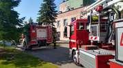 Szpital wraca do działania po pożarze