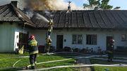 Pożar we wsi Żywy. Akcja strażaków trwała 4 godziny