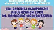 XIII Olecka Olimpiada Milusińskich im. Romualda Wojnowskiego