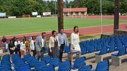Minister sportu z wizytą w  Olecku