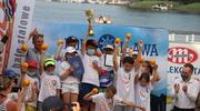 Skrzynka pełna pomarańczy została w Iławie! Brawo młodzi żeglarze MOS-u! [ZDJĘCIA, WIDEO]