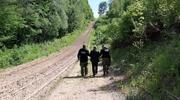 Rosjanie nielegalnie przekroczyli naszą granicę - szli do Niemiec