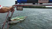 Uratowali życie turystom, którzy wypadli z łódki