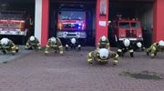 Strażacy robili pompki dla chorego Wojtusia