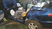 Dwie osoby zginęły w wypadku koło Łukty