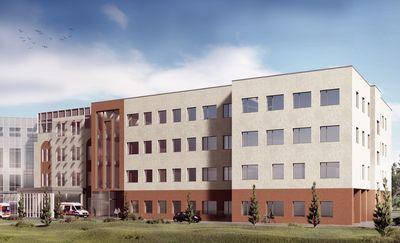 Szpital z nowym skrzydłem