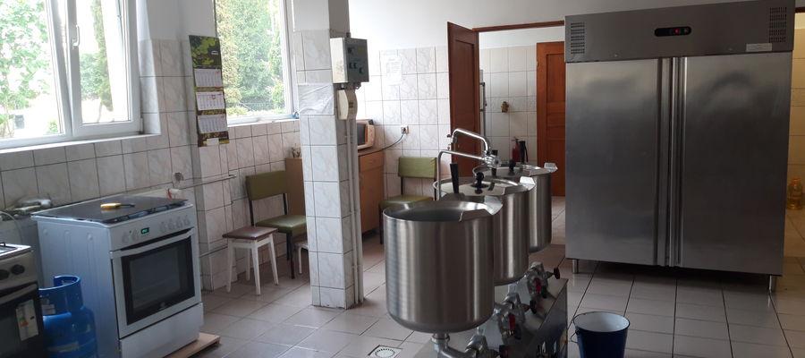 Kuchnia w Młodzieżowym Ośrodku Wychowawczym w Lidzbarku Warmińskim