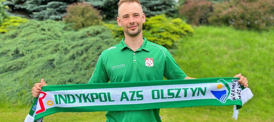 Jakub Ciunajtis, nowy libero Indykpolu AZS Olsztyn