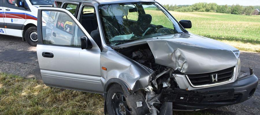 Po wypadku w Wielkiej Tymawie