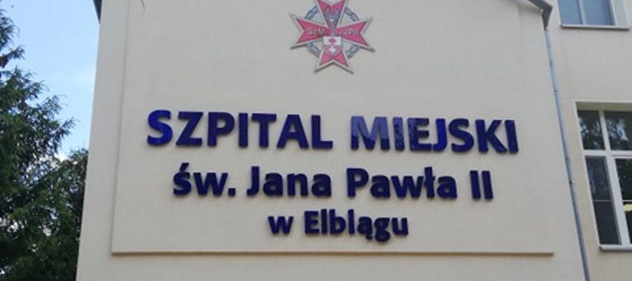 Szpital Miejski w Elblągu otrzyma dotację w wysokości prawie 1,5 mln