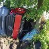 Dwa niebezpieczne zdarzenia z udziałem samochodów ciężarowych
