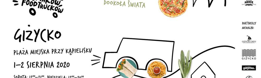 Festiwal Smaków Food Trucków w Giżycku już w ten weekend! Spotykamy się 1 i 2 sierpnia na plaży miejskiej przy kąpielisku.