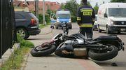 Rożental: Motocykl kontra samochód osobowy