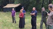 Policja, sanepid i straż pożarna w harcerskim obozie