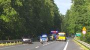 Uwaga kierowcy! Zderzenie pięciu pojazdów na wyjeździe z Olsztyna
