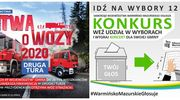 Idź na wybory i wygraj koncert dla swojej gminy lub wóz strażacki