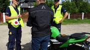 Nietrzeźwy motocyklista bez uprawnień zatrzymany dzięki obywatelskiemu zgłoszeniu
