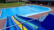 Choć pogoda nie najlepsza, ale basen miejski jest już otwarty